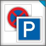 Parkplatzschilder 200 x 200 mm