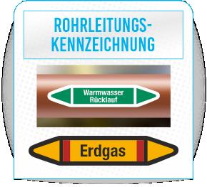 Rohrleitungskennzeichen