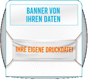 Banner von Ihren Daten