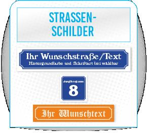 Strassenschild-Design