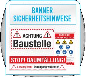 Banner Sicherheitshinweise