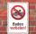 Schild Baden verboten, 3 mm Alu-Verbund
