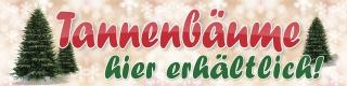 """Werbebanner, Christbaum, Tannenbaum, Weihnachtsbaum, Plane """"Tannenbäume"""" mit Ösen"""