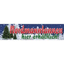 Werbebanner, Christbaum, Tannenbaum, Plane...
