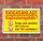 Schild Hinweisschild Gefahrschild Biogasanlage, 3 mm Alu-Verbund