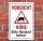 Schild Vorsicht Kühe, 3 mm Alu-Verbund