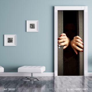 """Türtapete """"Hände"""", Türposter, selbstklebend 2050 x 880 mm"""