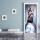 "Türtapete ""Sexy Frau"", Türposter, selbstklebend 2050 x 880 mm"