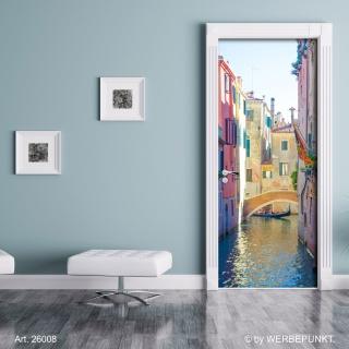 """Türtapete """"Venedig"""", Türposter, selbstklebend 2050 x 880 mm"""