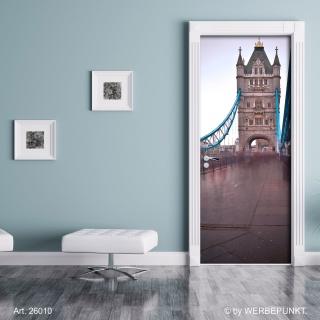 "Türtapete ""Brücke"", Türposter, selbstklebend 2050 x 880 mm"