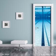 """Türtapete """"Unter Wasser, Pool"""",..."""
