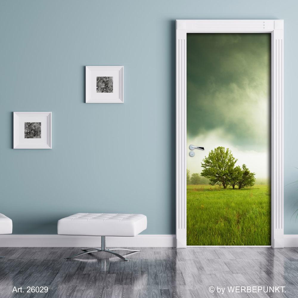 t rtapete b ume t rposter selbstklebend 2050 x 880 mm 27 49. Black Bedroom Furniture Sets. Home Design Ideas