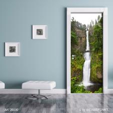"""Türtapete """"Wasserfall"""", Türposter, selbstklebend 2050 x 880 mm"""