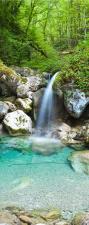 """Türtapete """"Kleiner Wasserfall"""",..."""