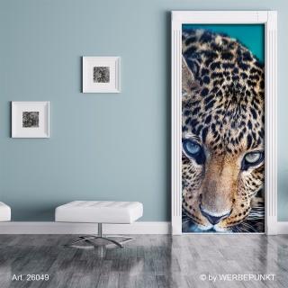 "Türtapete ""Leopard"", Türposter, selbstklebend 2050 x 880 mm"