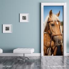 "Türtapete ""Pferd 2"", Türposter, selbstklebend 2050 x 880 mm"