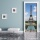 "Türtapete ""Eiffelturm"", Türposter, selbstklebend 2050 x 880 mm"