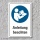 """Schild """"Anleitung beachten"""", DIN ISO 7010, 3 mm Alu-Verbund"""