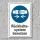 """Schild """"Rückhaltesystem benutzen"""", DIN ISO 7010, 3 mm Alu-Verbund"""