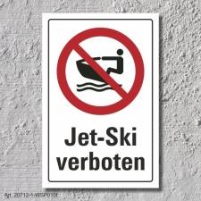 """Verbotsschild """"Jet Ski verboten"""", DIN ISO..."""