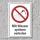 """Verbotsschild """"Mit Wasser spritzen verboten"""", DIN ISO 7010, 3 mm Alu-Verbund"""