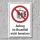 """Verbotsschild """"Aufzug nicht benutzen"""", DIN ISO 7010, 3 mm Alu-Verbund"""