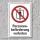 """Verbotsschild """"Personenbeförderung verboten"""", DIN ISO 7010, 3 mm Alu-Verbund"""