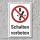"""Verbotsschild """"Schalten verboten"""", DIN ISO 7010, 3 mm Alu-Verbund"""