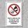 """Verbotsschild """"Freihand- und handgeführtes schleifen"""", DIN ISO 7010, 3 mm Alu-Verbund"""
