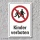 """Verbotsschild """"Kinder verboten"""", DIN ISO 7010, 3 mm Alu-Verbund"""