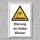 """Warnschild """"Warnung vor tiefem Wasser"""", DIN ISO 20712, 3 mm Alu-Verbund"""