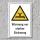 """Warnschild """"Starke Strömung"""", DIN ISO 20712, 3 mm Alu-Verbund"""