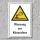 """Warnschild """"Warnung vor Kitesurfern"""", DIN ISO 20712, 3 mm Alu-Verbund"""