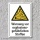 """Warnschild """"Explosionsgefährliche Stoffe"""", DIN ISO 7010, 3 mm Alu-Verbund"""