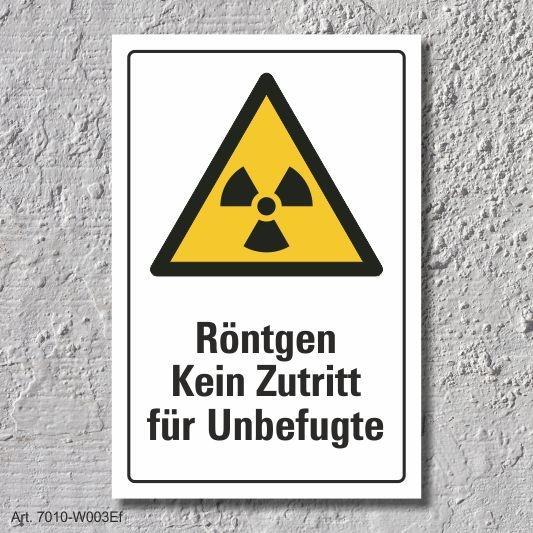 """3 mm Alu-Verbund Schild /""""Achtung Laser/"""" DIN ISO 7010"""