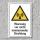 """Warnschild """"Nicht ionisierende Strahlung"""", DIN ISO 7010, 3 mm Alu-Verbund"""