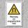"""Warnschild """"Magnetisches Feld"""", DIN ISO 7010, 3 mm Alu-Verbund"""