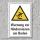 """Warnschild """"Hindernisse am Boden"""", DIN ISO 7010, 3 mm Alu-Verbund"""