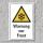 """Warnschild """"Warnung vor Frost"""", DIN ISO 7010, 3 mm Alu-Verbund"""