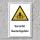 """Warnschild """"Vorsicht! Quetschgefahr"""", DIN ISO 7010, 3 mm Alu-Verbund"""