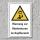 """Warnschild """"Hindernisse im Kopfbereich"""", DIN ISO 7010, 3 mm Alu-Verbund"""