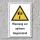 """Warnschild """"Spitzer Gegenstand"""", DIN ISO 7010, 3 mm Alu-Verbund"""