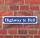 """Schild im Straßenschild-Design """"Highway to Hell"""" - 3 mm Alu-Verbund - 52 x 11 cm"""