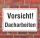 Schild Vorsicht Dacharbeiten, 3 mm Alu-Verbund
