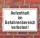 Schild Aufenthalt im Gefahrenbereich verboten, 3 mm Alu-Verbund