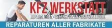 """Werbebanner,  Plane """"KFZ Werkstatt"""", reparatur,..."""