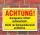 """Schild """"Achtung, Garagentor öffnet automatisch"""", 3 mm Alu-Verbund"""