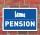 """Schild """"Pension"""", 3 mm Alu-Verbund"""