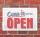 Vintage Schild Retro Deko Open Offen geöffnet