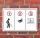 """Schild """"Pinkeln verboten überwacht"""" 3mm Alu-Verbund, 300 x 200 mm"""